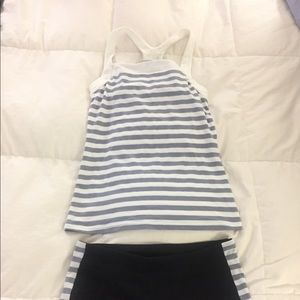 Gap sport top with build in bra. Size small.